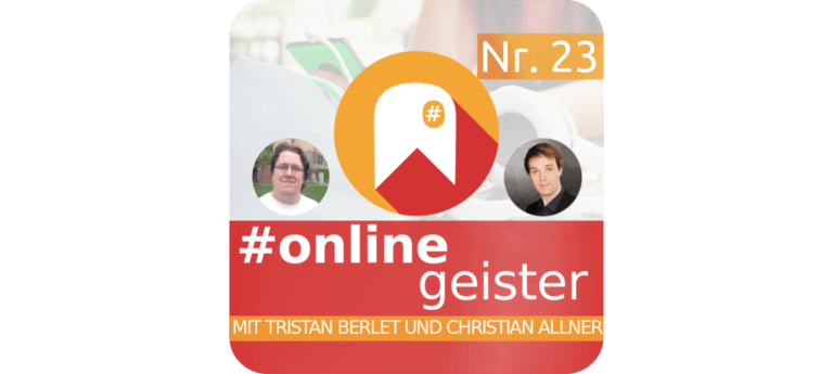 #Onlinegeister Podcast zu Netzkultur, Social Media, Business Cover Folge Nr.23