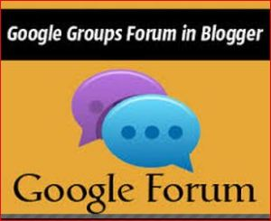Google Forum-How to Create a Free Google Group