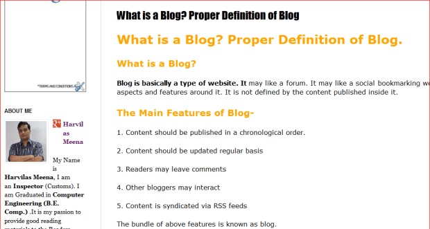 Blog-What is blog