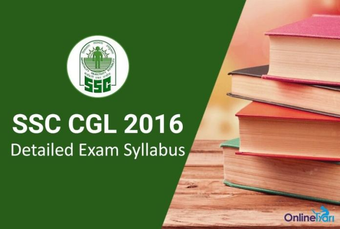 SSC-CGL-Exam-Syllabus-2016