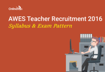 Army Public School AWES Syllabus Exam Pattern 2016