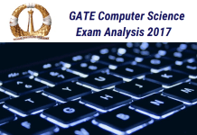 GATE Computer Science Exam Analysis, Overall Difficulty Level 2017