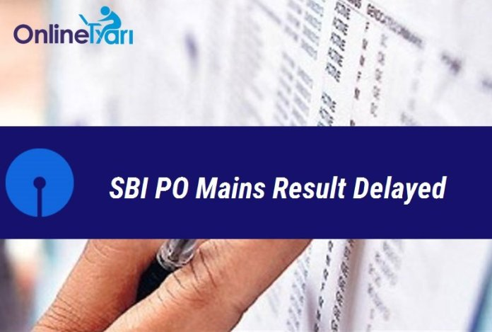 SBI PO Mains Result Delayed: Check Official Notice