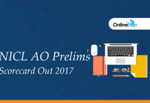 NICL AO Prelims Scorecard Out 2017: Check your marks here