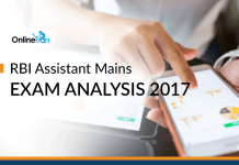 RBI Assistant Mains Exam Analysis: 20 December 2017 (Complete Review)