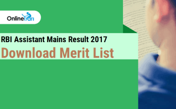 RBI Assistant Mains Result Declared: Check Merit List (Zone-Wise)