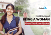 Feel Privileged Being A Woman: Know Your Exam Quota
