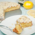 Torta di Mandorle e Limone <BR>{Lemon Almond Olive Oil Cake}