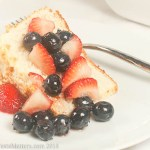 Light as a Cloud Angel Food Cake with Berry Topping