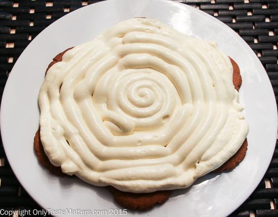 Assembling Lemon Ginger Icebox Cake