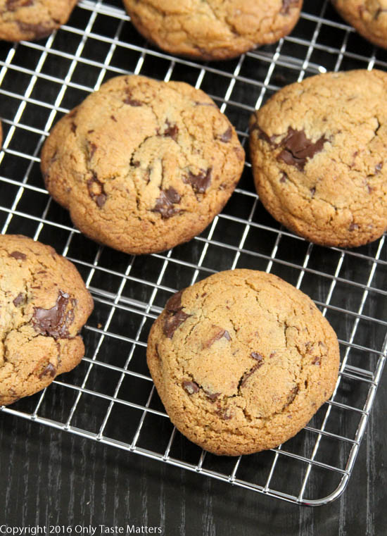 Paleo Chocolate Chip Cookies {Nut Free} | Only Taste Matters