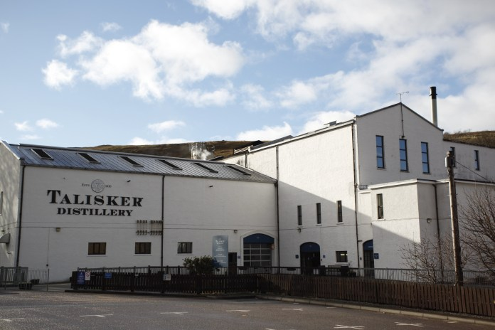 I Talisker Distillery