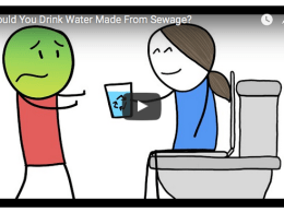 Drink Water Made From Sewage