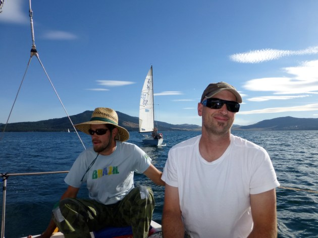 MT-rob and josh on flathead lake
