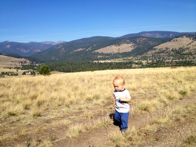 talon randall roberts hiking in missoula