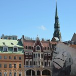 Lettonie - Riga - Waaw une place!