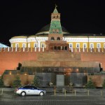 on the road to moscow - russia-lenin's mausoleum