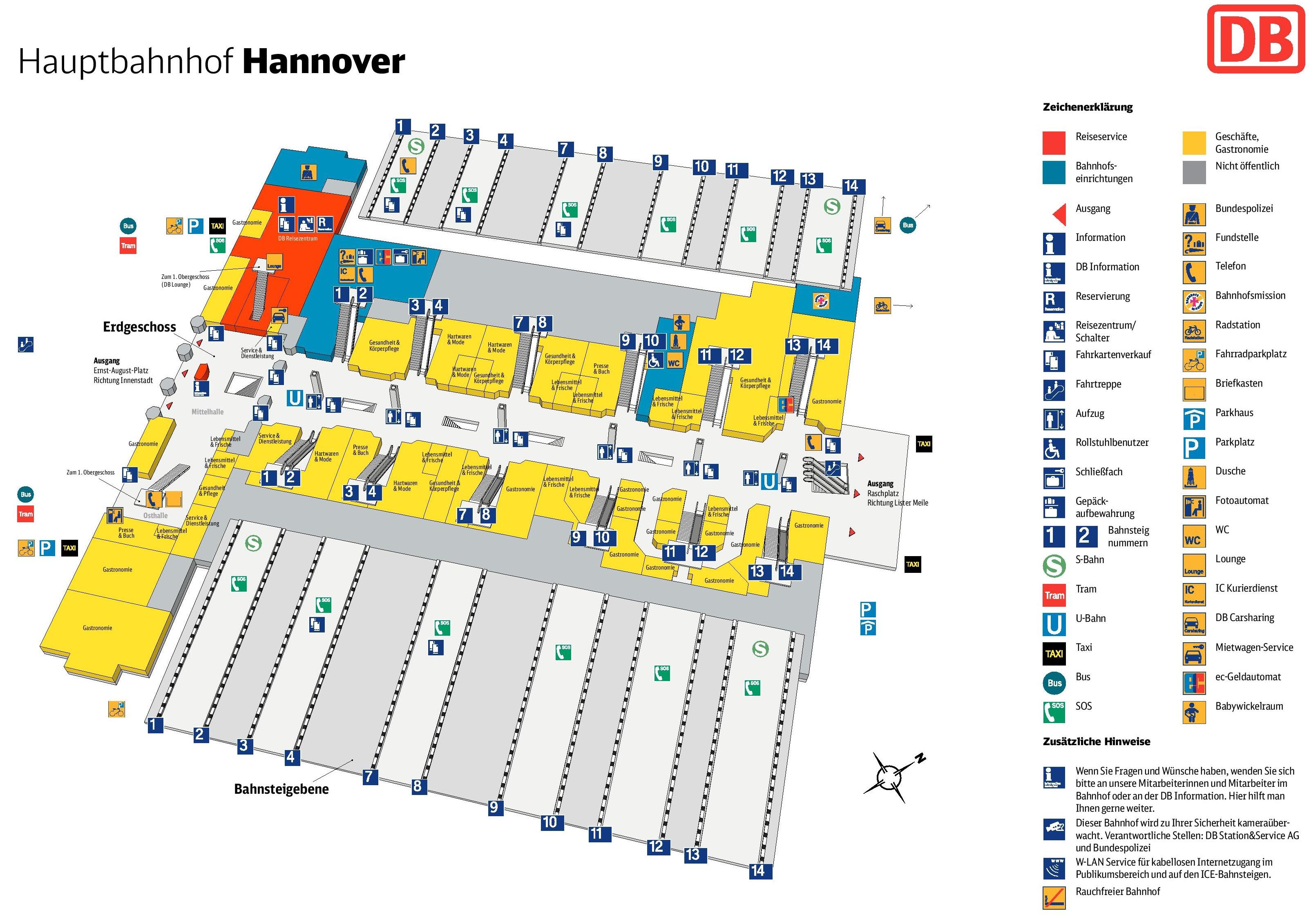 map berlin hauptbahnhof