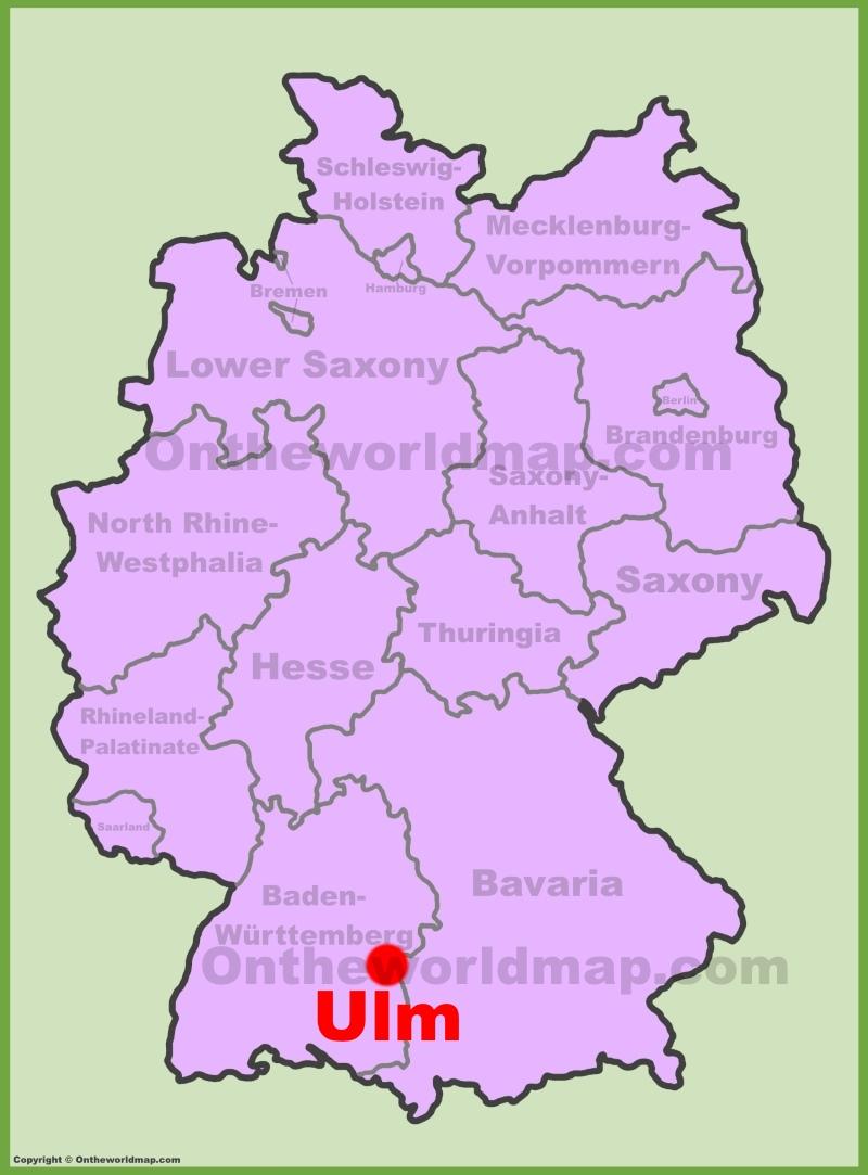 map ulm
