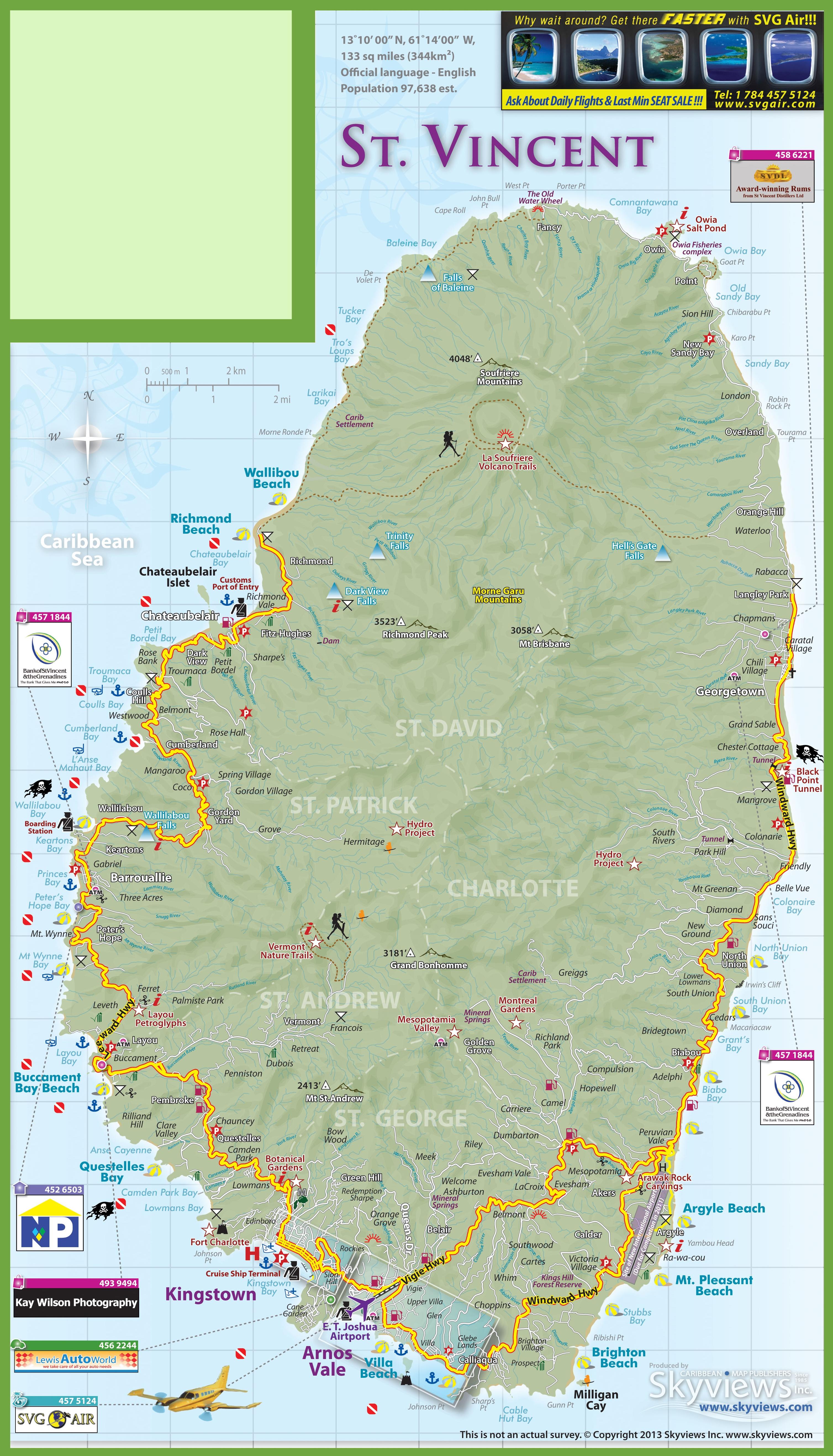 map st vincent