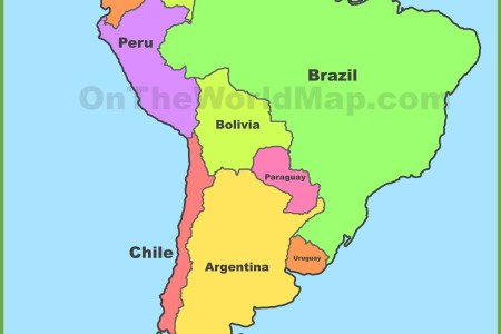 south america maps | maps of south america ontheworldmap.com