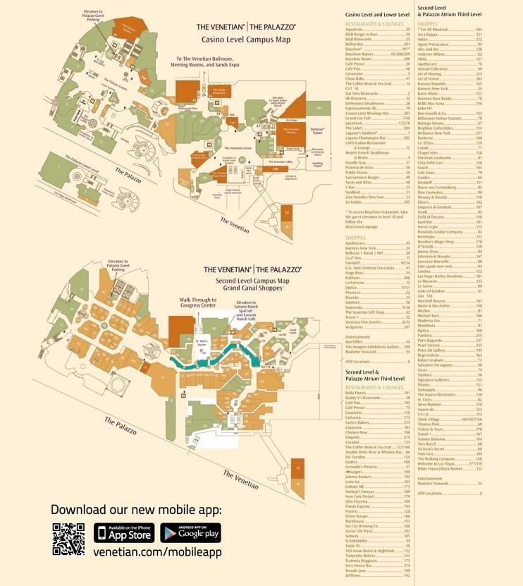 map showing las vegas hotels