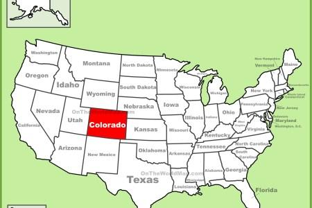 colorado location on the u.s. map