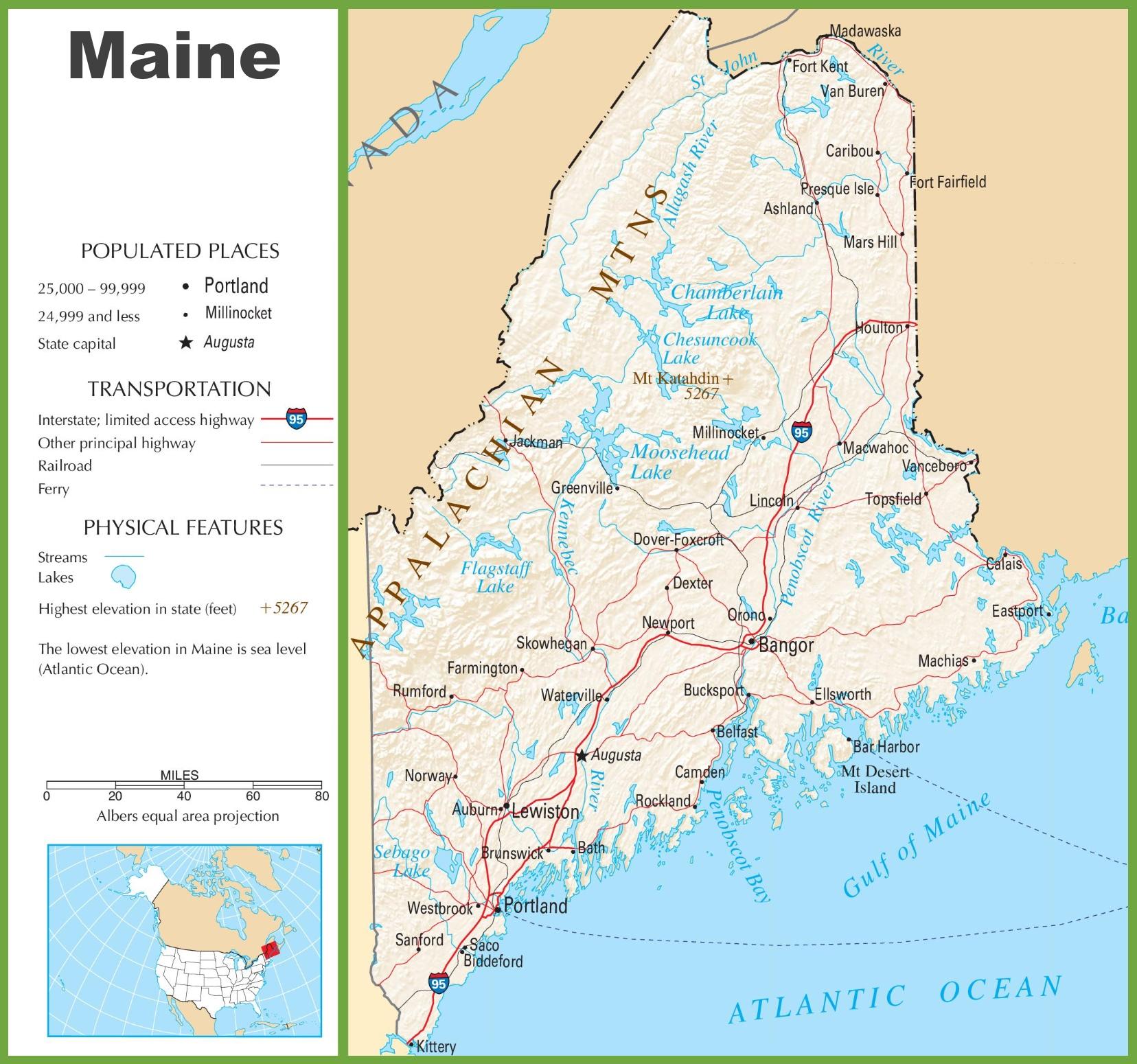 map maine