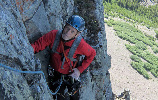 Rock Climbing Canadian Rockies