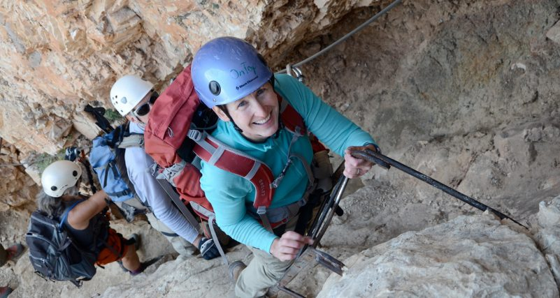 via ferrata climbs