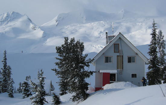 sorcerer lodge ski touring