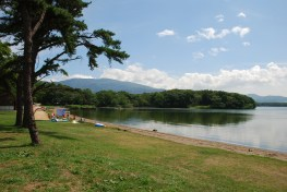 夏のキャンプ場