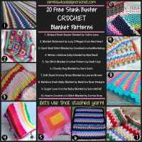 20 Free Stash Buster Blanket Patterns