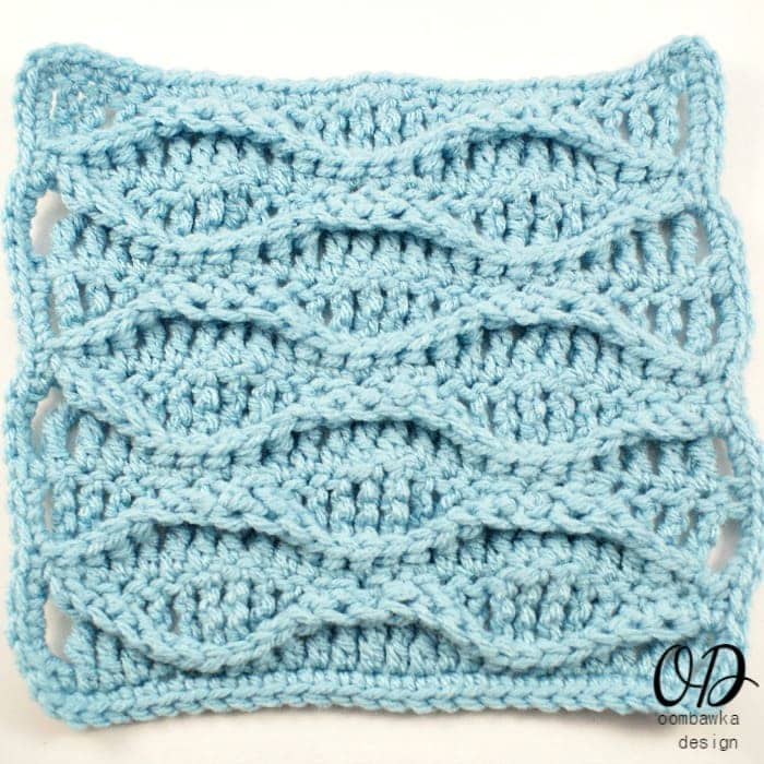 Crochet Wave Stitch : ... Learn a New Crochet Stitch! Double Wave ? Oombawka Design Crochet