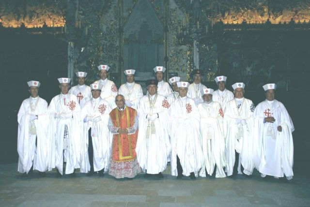 Capitulo de la Orden de Calatrava en Mallorca Junio 2001