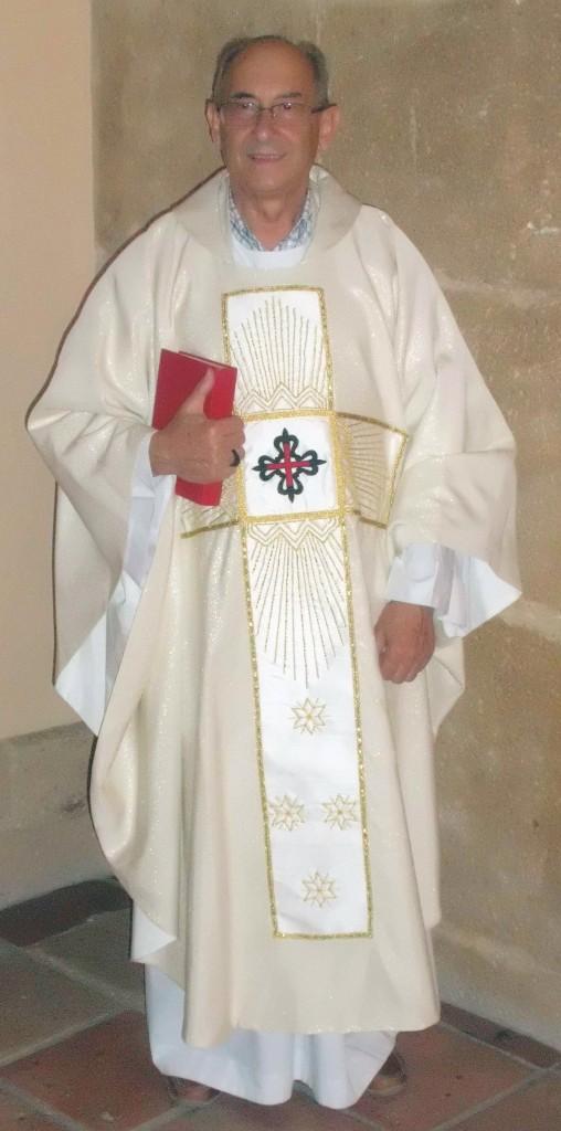 Joan Albelda Oltra, rector de la Parròquia de Montesa desde 1988