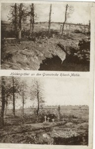 Feldpostgkarte Erster Weltkrieg Ribont-Mühle