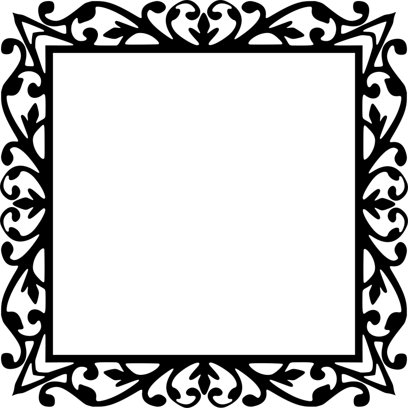 Exceptional Big Image Clipart Square Frame Square Frames Michaels ...