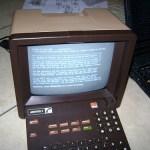 A hacked Minitel terminal loads TTYtter (believekevin/Flickr)