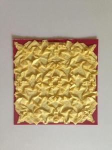 Grace folded paper