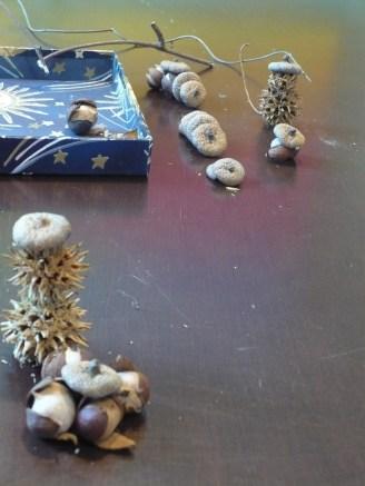 Acorns and husks