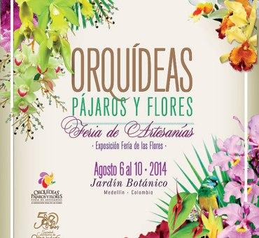 The 2014 Medellin Orchid Expo: Orquideas, Pajaros y Flores