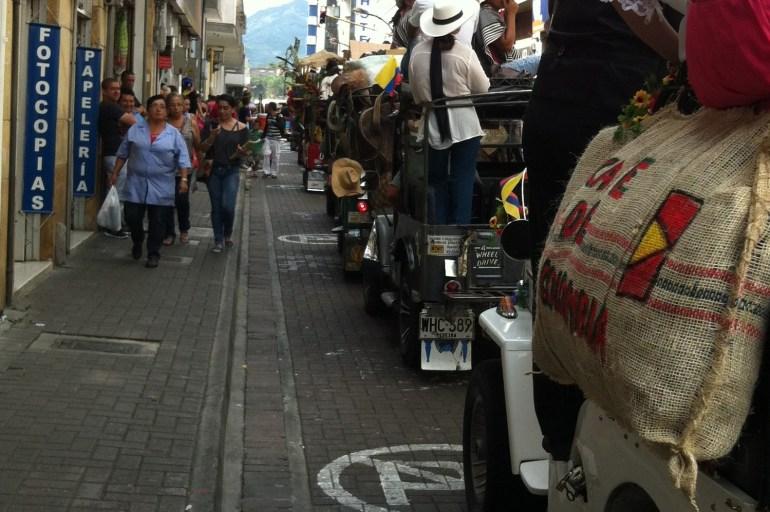 Pereira Jeep Parade