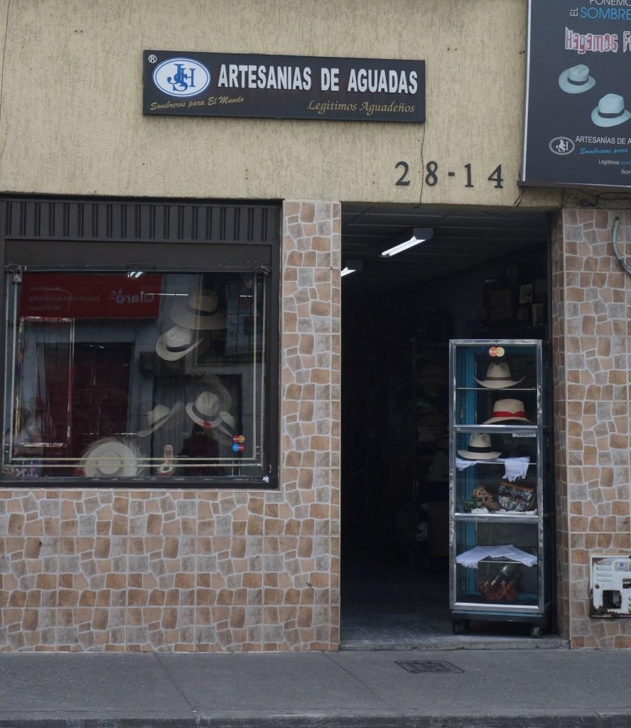 Artesanias de Aguadas|Sombrero Aguadeño