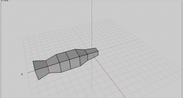 Figure 13: Second edge loop scaled down
