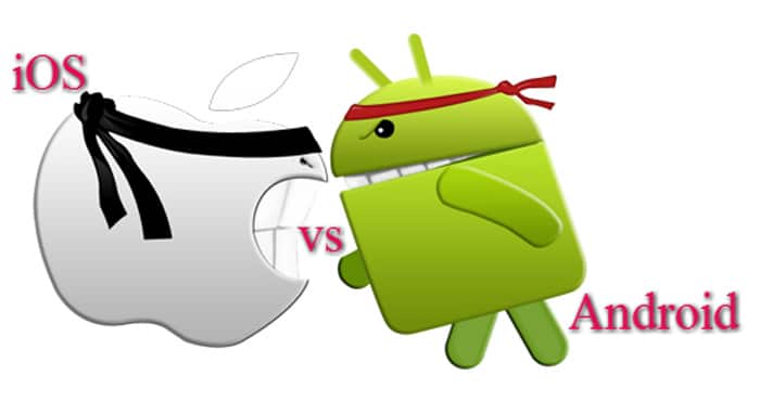 Android vs iOS app permissions