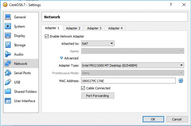 Installation and configuration of virtualbox on windows 10