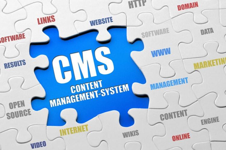 Content management system WordPress, Drupal and Joomla