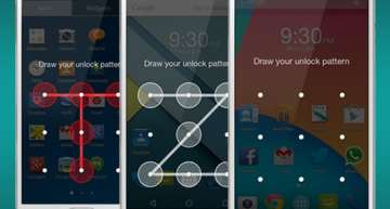 Pattern lock on your Android phone can be cracked in just 5 attempts