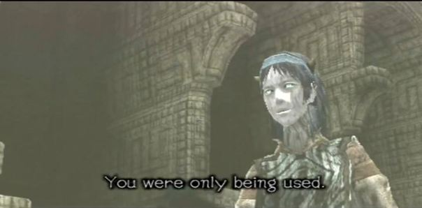 Storytelling Shadow of the Colossus